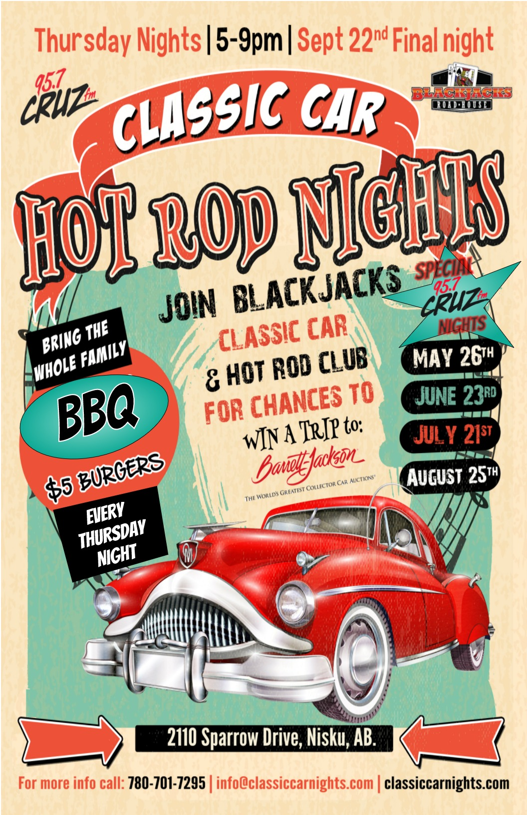 Car night poster final